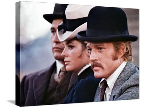 Butch Cassidy And The Sundance Kid, Paul Newman, Katharine Ross, Robert Redford, 1969--Stretched Canvas Print