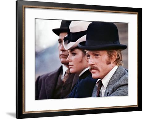 Butch Cassidy And The Sundance Kid, Paul Newman, Katharine Ross, Robert Redford, 1969--Framed Art Print