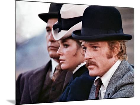Butch Cassidy And The Sundance Kid, Paul Newman, Katharine Ross, Robert Redford, 1969--Mounted Photo