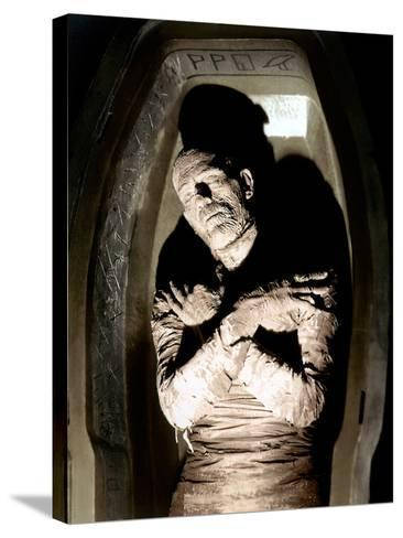 The Mummy, Boris Karloff, 1932--Stretched Canvas Print