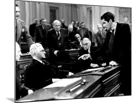 Mr. Smith Goes To Washington, Claude Rains, James Stewart, 1939, Senate Debate--Mounted Photo