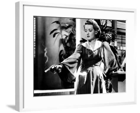 The Letter, Bette Davis, 1940--Framed Art Print