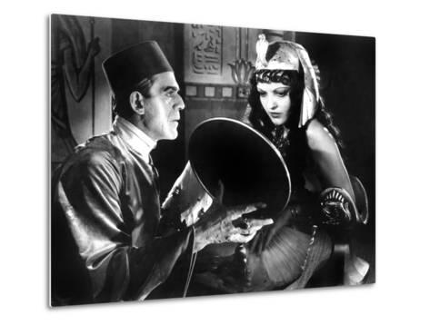 The Mummy, Boris Karloff, Zita Johann, 1932--Metal Print