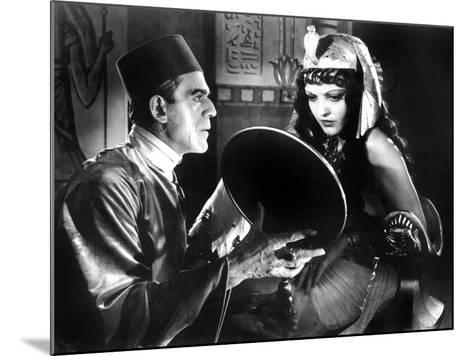 The Mummy, Boris Karloff, Zita Johann, 1932--Mounted Photo