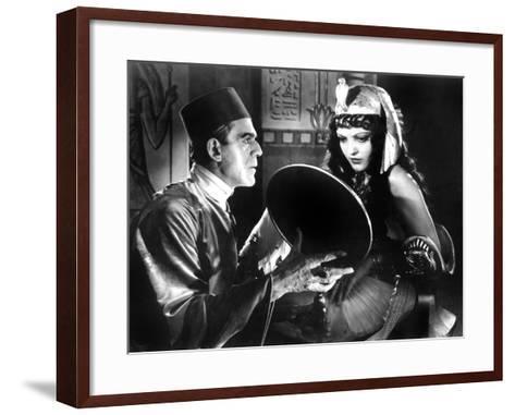 The Mummy, Boris Karloff, Zita Johann, 1932--Framed Art Print