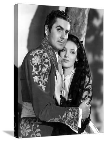 Mark Of Zorro, Tyrone Power, Linda Darnell, 1940--Stretched Canvas Print