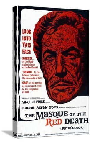 The Masque Of The Red Death, 1965--Stretched Canvas Print