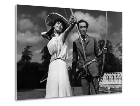 Kind Hearts And Coronets, Valerie Hobson, Dennis Price, 1949--Metal Print