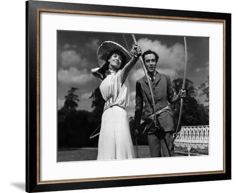 Kind Hearts And Coronets, Valerie Hobson, Dennis Price, 1949--Framed Art Print