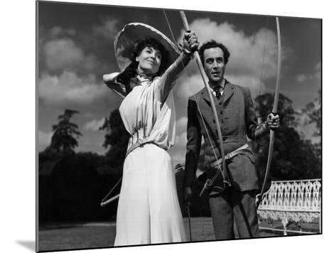 Kind Hearts And Coronets, Valerie Hobson, Dennis Price, 1949--Mounted Photo