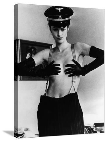 The Night Porter, (aka Il Portiere Di Notte), Charlotte Rampling, 1974--Stretched Canvas Print