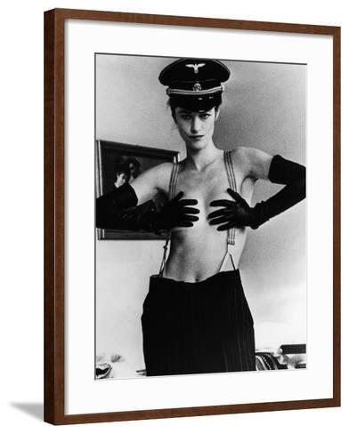 The Night Porter, (aka Il Portiere Di Notte), Charlotte Rampling, 1974--Framed Art Print