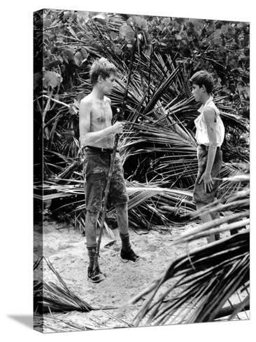 Lord Of The Flies, Tom Chapin, James Aubrey, 1963--Stretched Canvas Print