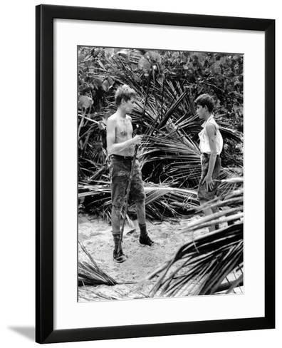 Lord Of The Flies, Tom Chapin, James Aubrey, 1963--Framed Art Print