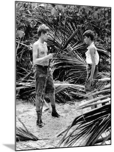 Lord Of The Flies, Tom Chapin, James Aubrey, 1963--Mounted Photo
