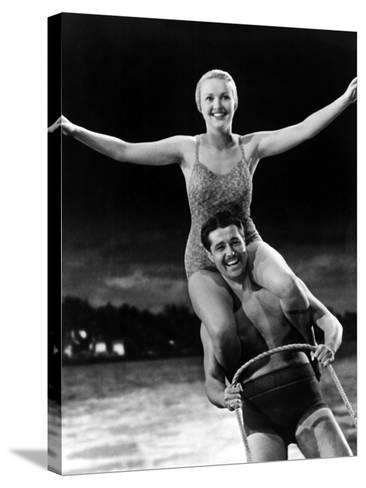 Moon Over Miami, Betty Grable, Don Ameche, 1941--Stretched Canvas Print