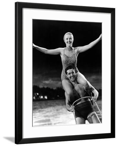 Moon Over Miami, Betty Grable, Don Ameche, 1941--Framed Art Print