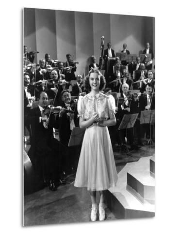 One Hundred Men And A Girl, Deanna Durbin, 1937--Metal Print