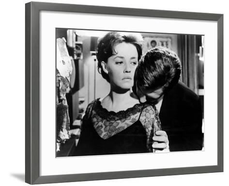 La Notte, Jeanne Moreau, Marcello Mastroianni, 1961--Framed Art Print