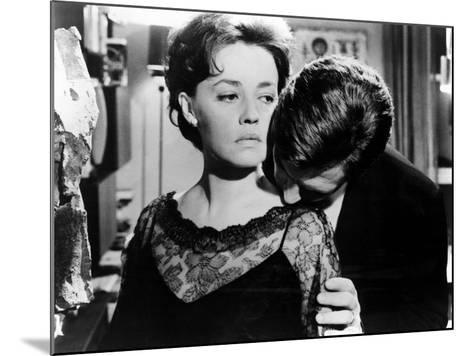 La Notte, Jeanne Moreau, Marcello Mastroianni, 1961--Mounted Photo