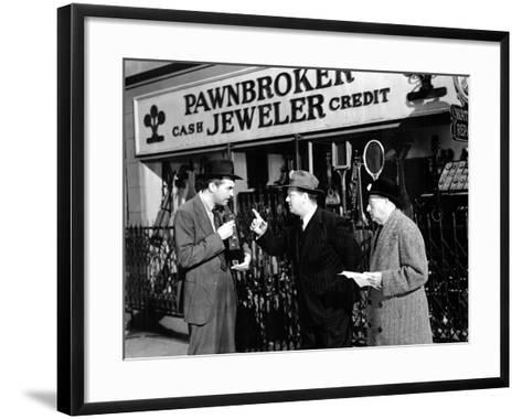 The Lost Weekend, Ray Milland, Lester Sharpe, Bertram Warburgh, 1945--Framed Art Print