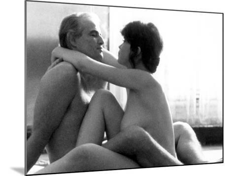 Last Tango In Paris, Marlon Brando, Maria Schneider, 1972--Mounted Photo