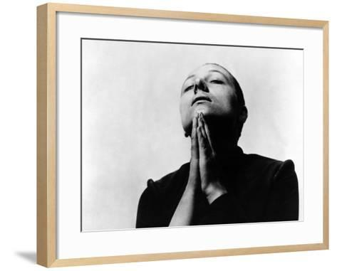 The Passion Of Joan Of Arc, (aka La Passion De Jeanne D'Arc), Maria Falconetti, 1928--Framed Art Print