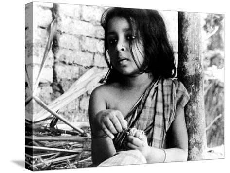 Pather Panchali, Runki Banerjee As Young Durga, 1955--Stretched Canvas Print