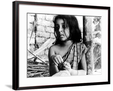 Pather Panchali, Runki Banerjee As Young Durga, 1955--Framed Art Print