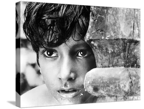 Pather Panchali, Subir Bannerjee, 1955--Stretched Canvas Print
