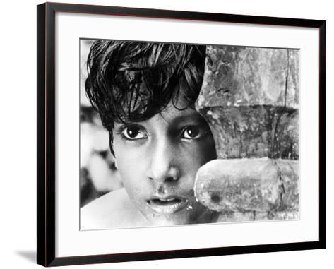 Pather Panchali, Subir Bannerjee, 1955--Framed Art Print