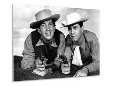 Pardners, Dean Martin And Jerry Lewis, 1956--Metal Print