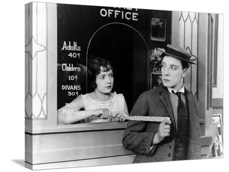 Sherlock Jr., Buster Keaton, 1924--Stretched Canvas Print