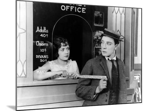 Sherlock Jr., Buster Keaton, 1924--Mounted Photo