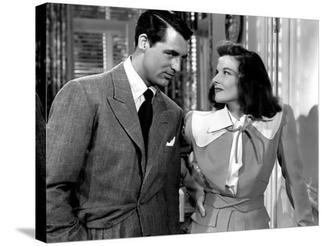 The Philadelphia Story, Cary Grant, Katharine Hepburn, 1940--Stretched Canvas Print