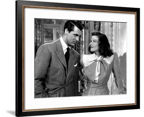 The Philadelphia Story, Cary Grant, Katharine Hepburn, 1940--Framed Art Print