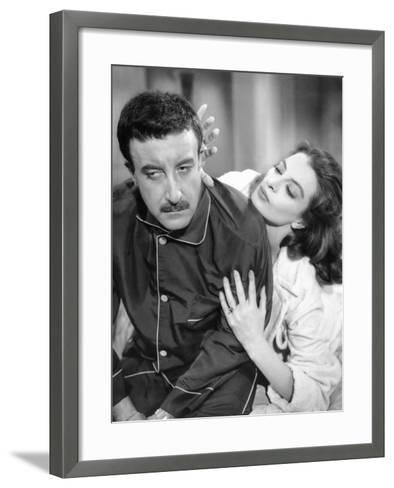 The Pink Panther, Peter Sellers, Capucine, 1963--Framed Art Print