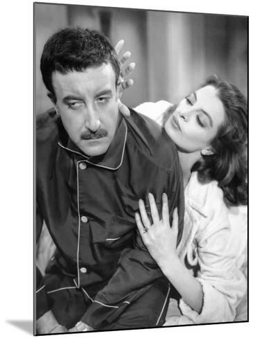 The Pink Panther, Peter Sellers, Capucine, 1963--Mounted Photo