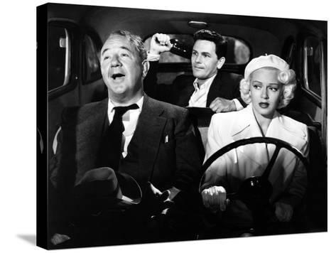 The Postman Always Rings Twice, Cecil Kellaway, John Garfield, Lana Turner, 1946--Stretched Canvas Print