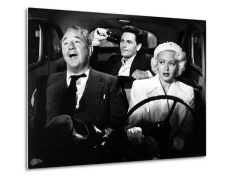 The Postman Always Rings Twice, Cecil Kellaway, John Garfield, Lana Turner, 1946--Metal Print