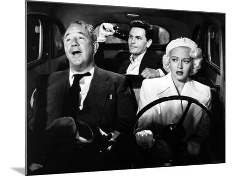 The Postman Always Rings Twice, Cecil Kellaway, John Garfield, Lana Turner, 1946--Mounted Photo