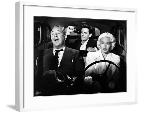 The Postman Always Rings Twice, Cecil Kellaway, John Garfield, Lana Turner, 1946--Framed Art Print