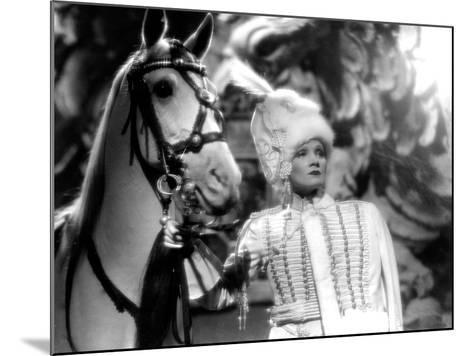The Scarlet Empress, Marlene Dietrich, 1934--Mounted Photo