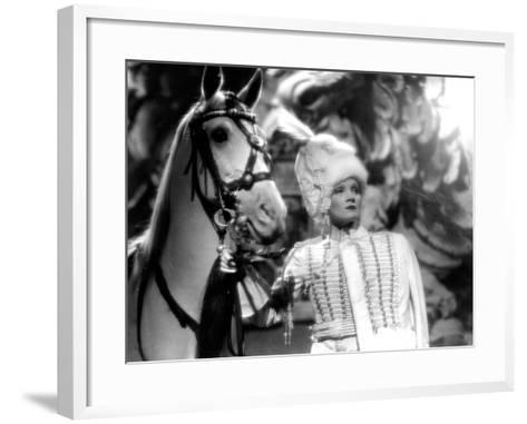 The Scarlet Empress, Marlene Dietrich, 1934--Framed Art Print