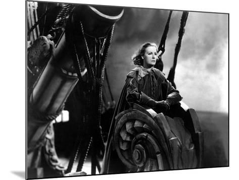 Queen Christina, Greta Garbo, 1933--Mounted Photo