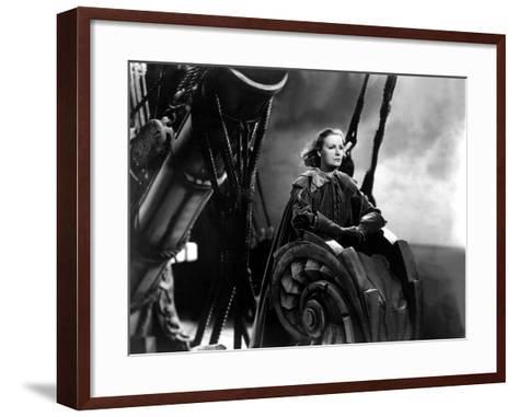 Queen Christina, Greta Garbo, 1933--Framed Art Print