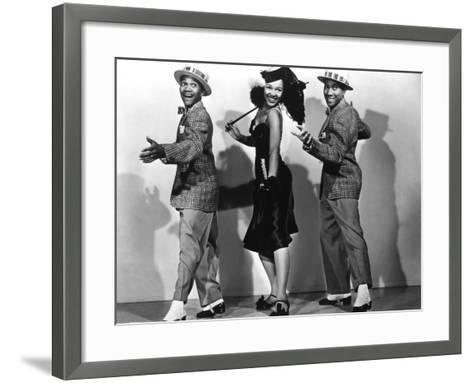 Sun Valley Serenade, 1941--Framed Art Print