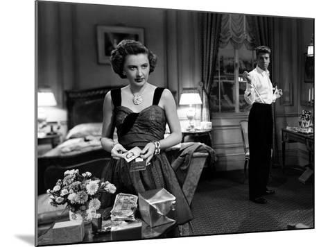 Sorry, Wrong Number, Burt Lancaster, Barbara Stanwyck, 1948--Mounted Photo
