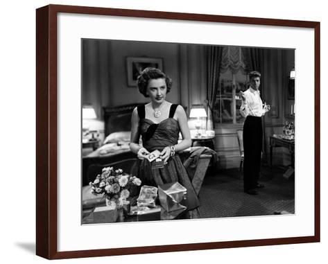 Sorry, Wrong Number, Burt Lancaster, Barbara Stanwyck, 1948--Framed Art Print