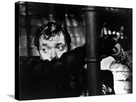 The Third Man, Orson Welles, 1949--Stretched Canvas Print